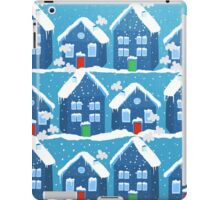 Winter In The Village iPad Case/Skin