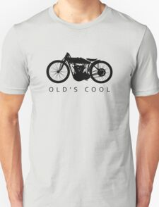 Old's Cool - Vintage Motorcycle Silhouette (Black) T-Shirt