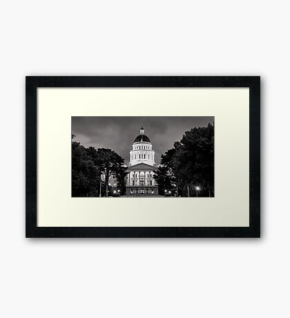 Capital Framed Print