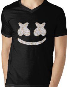 Marshmallow Marshmello Mens V-Neck T-Shirt