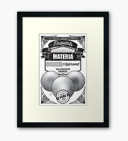 JENOVA tested, SOLDIER approved! Framed Print