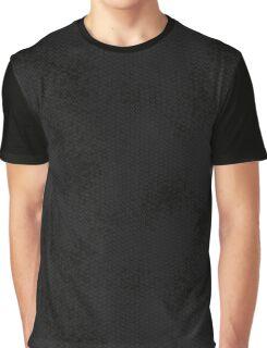 Black Snake Skin (Black Heart) Graphic T-Shirt