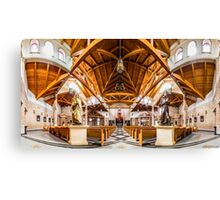 St. Clare of Assisi church 2 Canvas Print