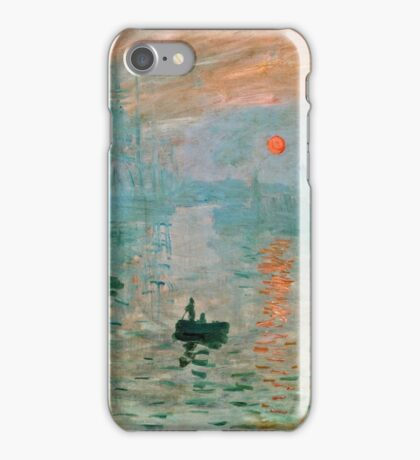 Claude Monet - Impression Sunrise  iPhone Case/Skin