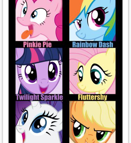 Everypony Is Best Pony Sticker