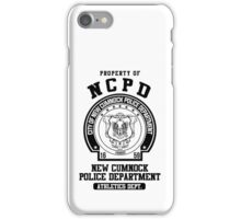 NCPD Athletic Department iPhone Case/Skin