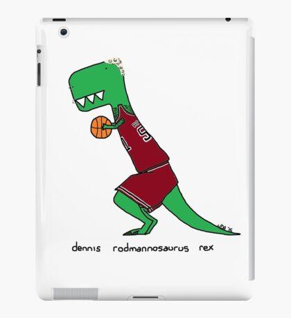 dennis rodmannosaurus rex  iPad Case/Skin