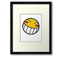 Cowboy Bebop Radical Ed Smiley Face Framed Print