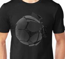broken cracked black glass ball Unisex T-Shirt