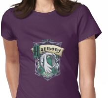 Harmonious Slytherin Womens Fitted T-Shirt