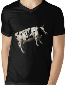 Cow Hefer Mens V-Neck T-Shirt