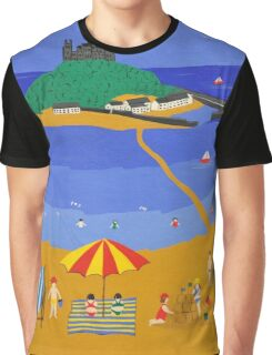 St michaels mount cornwall Graphic T-Shirt