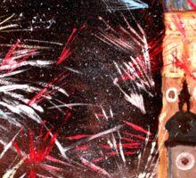 Munich, New Years Eve Fireworks Sticker
