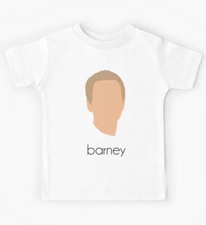 How I Met Your Mother - Barney Headshot Kids Tee