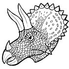 Triceratops by gadgetronic