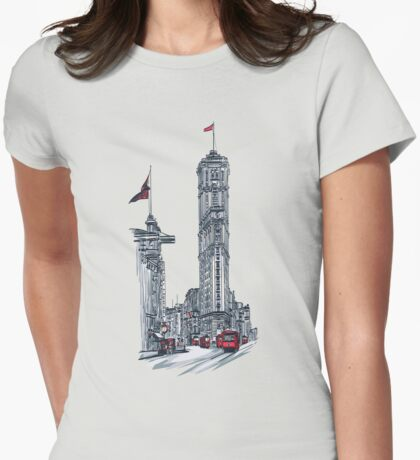 1908 Times Square,NY Womens Fitted T-Shirt