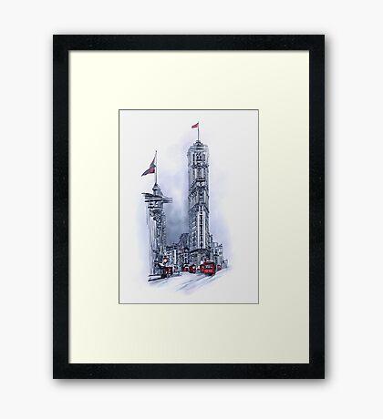1908 Times Square,NY Framed Print