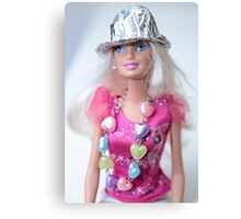 Barbie Doll Canvas Print