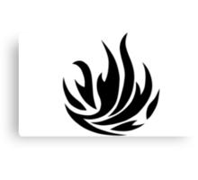 Dauntless Flames Canvas Print