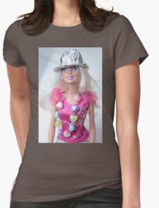 Barbie Doll Womens Fitted T-Shirt