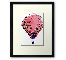 The Balloon Framed Print