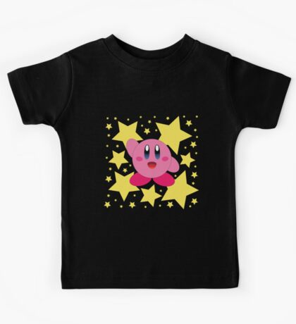 Kirby in the stars Kids Tee