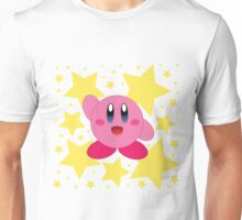 Kirby in the stars Unisex T-Shirt