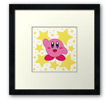Kirby in the stars Framed Print