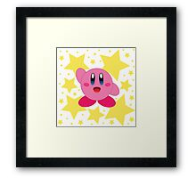 Kirby in the stars Framed Print