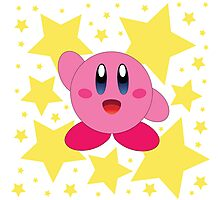 Kirby in the stars Photographic Print
