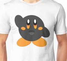 Carbon Kirby - Orange Eyes Unisex T-Shirt