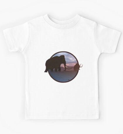 Age of the Mammoths Kids Tee
