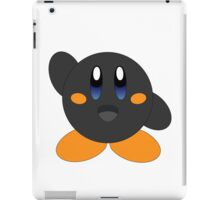 Carbon Kirby - Blue eyes iPad Case/Skin