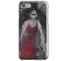RedLady In Dream of Soot & Ash iPhone Case/Skin