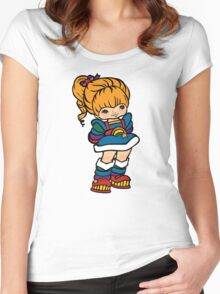 Rainbow Brite [ iPad / iPhone / iPod case, Tshirt & Print ] Women's Fitted Scoop T-Shirt