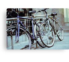Dublin Bicycles Canvas Print