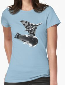 Atomic bomb Womens Fitted T-Shirt