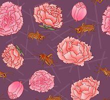 Crickets & Carnations by AJonson