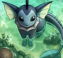 [Pokémon] Vaporeon by kiiroikat