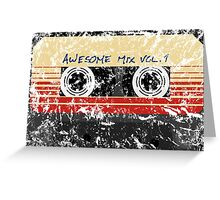 Awesome, Mix Tape Vol.1 Greeting Card