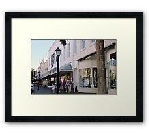 Small Town, USA Framed Print