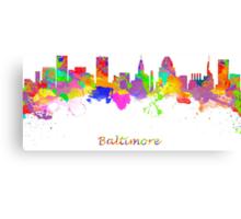 Baltimore USA Canvas Print