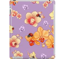Orchids & Ladybugs iPad Case/Skin