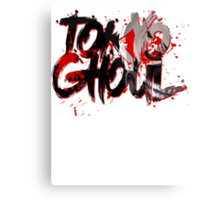 TOKYO GHOUL - BLOOD STAINED LEGACY Canvas Print
