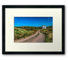 Abandoned House, Earltown, Nova Scotia Framed Print