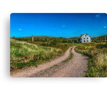 Abandoned House, Earltown, Nova Scotia Canvas Print
