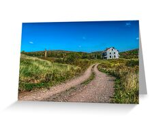 Abandoned House, Earltown, Nova Scotia Greeting Card