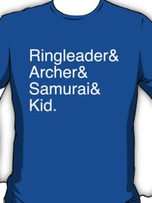 Ringleader, Archer, Samurai, Kid - The Walking Dead T-Shirt