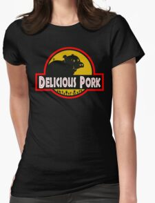 Delicious Pork Womens Fitted T-Shirt
