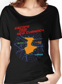 Escape From New Cumnock Title Map Women's Relaxed Fit T-Shirt